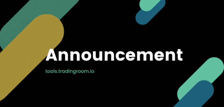 Announcement - Trading Room